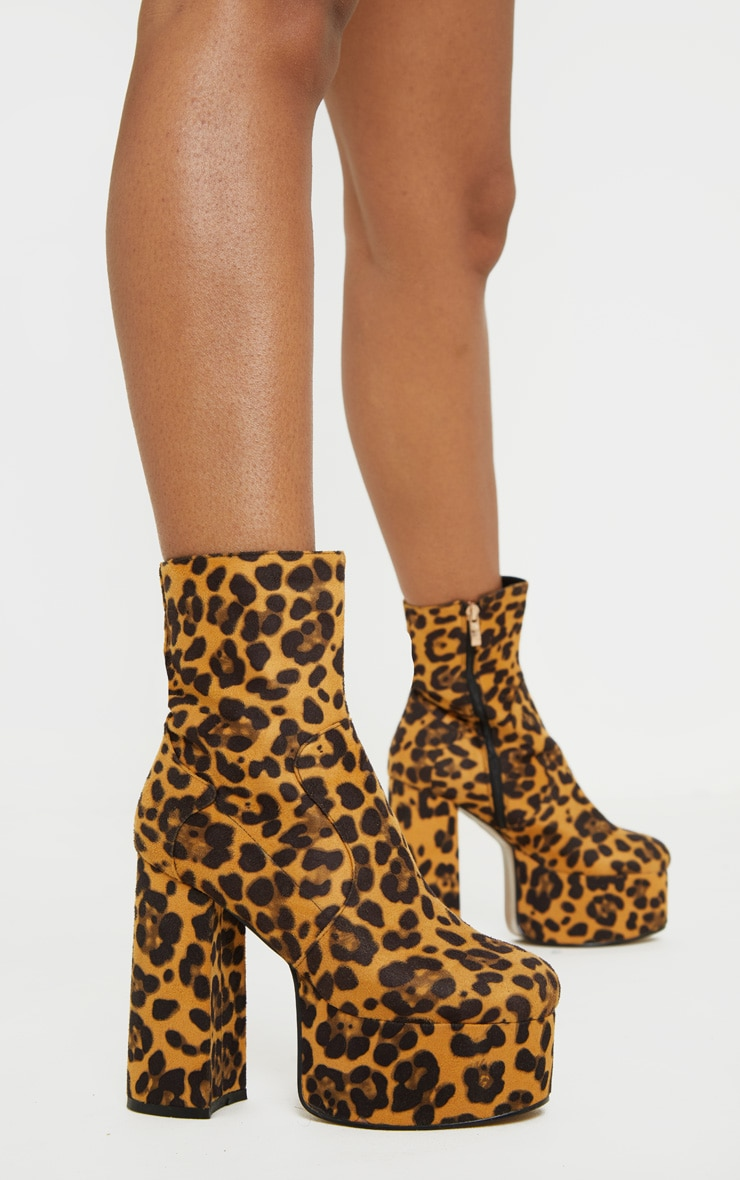 Leopard High Platform Boot 2