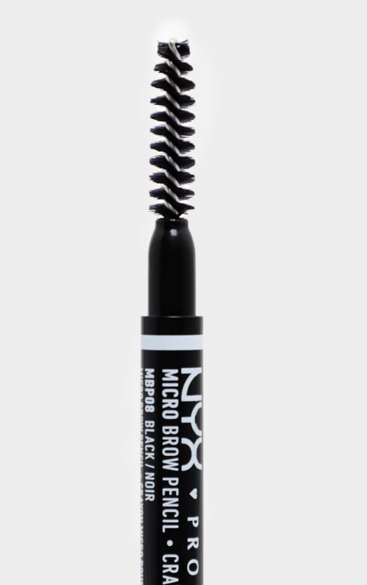 NYX PMU Micro Brow Pencil Black 3