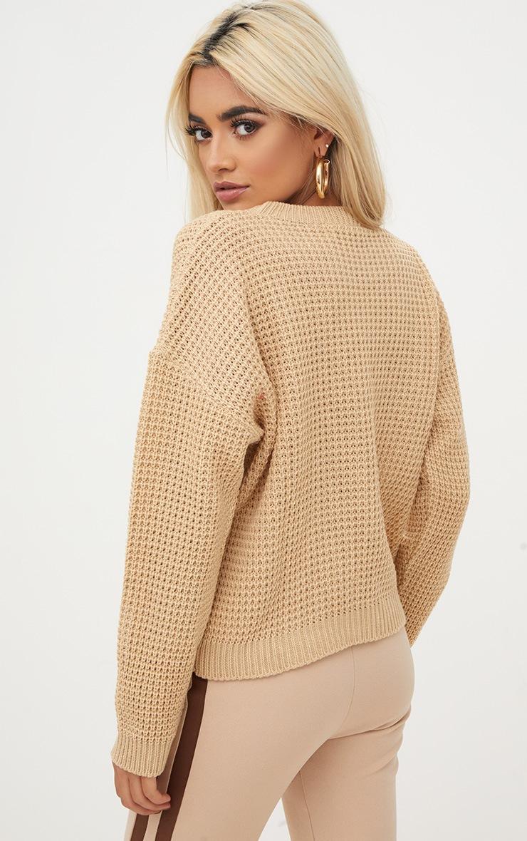 Stone Basic Knitted Jumper 2