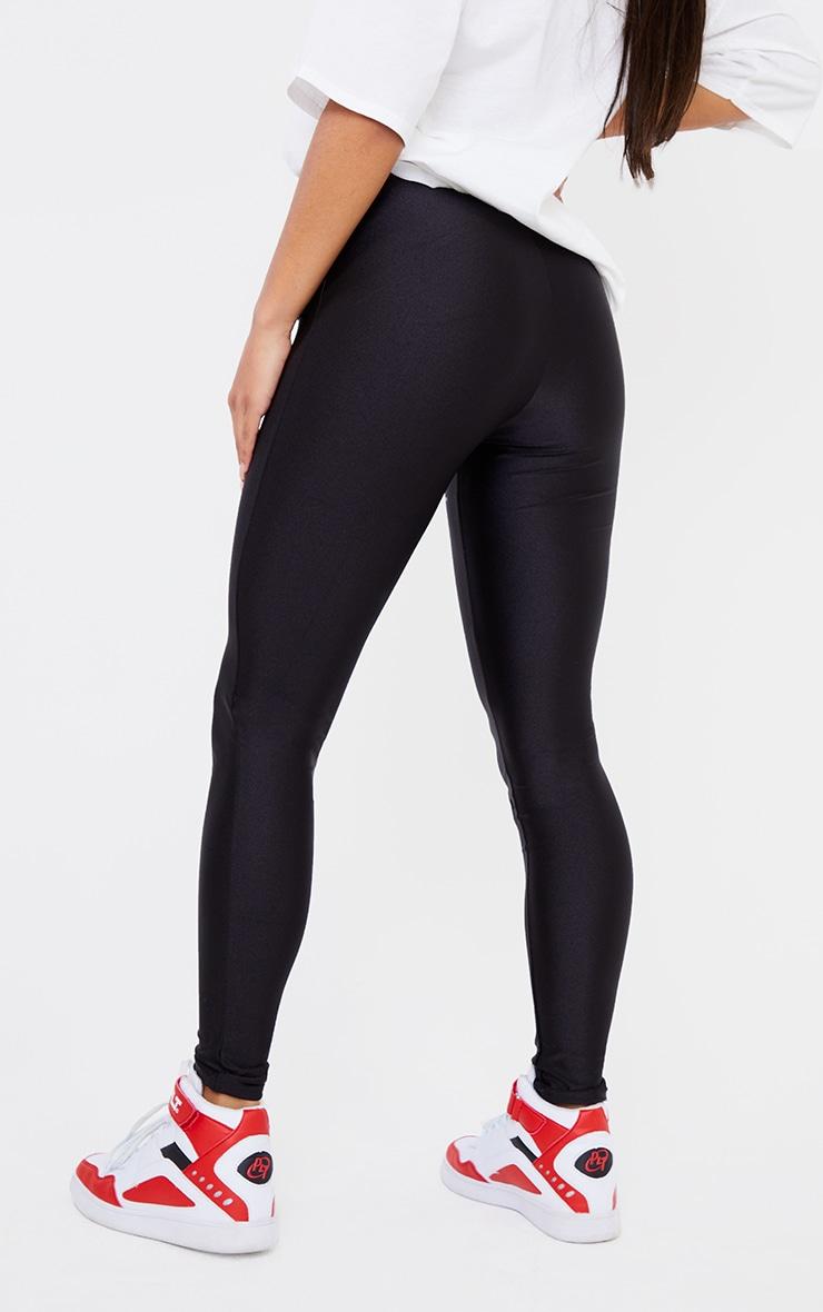 Black Second Skin Disco Pant 3