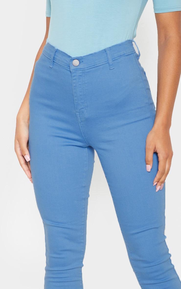 Charcoal Blue Disco Skinny Jean 5