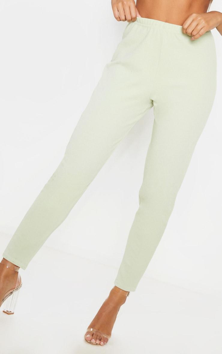 Sage Straight Leg Crepe Pants 5