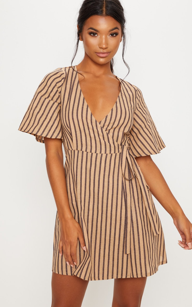Stone Stripe Tea Dress