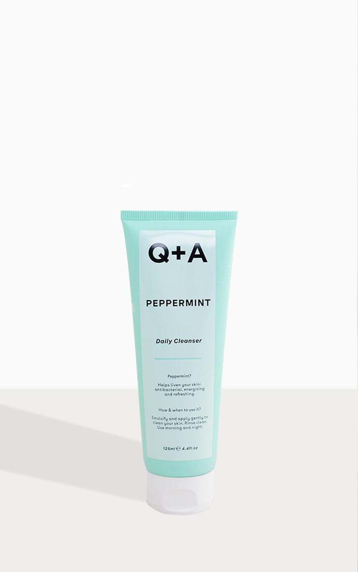Q+A Peppermint Daily Cleanser 125ml 2