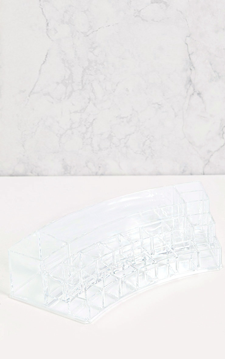 Technic Clear Curved Cosmetics Organiser 2