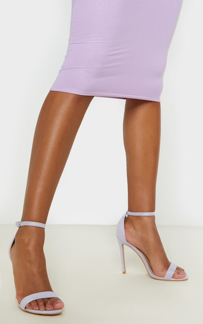 Lilac Clover Strappy Sandal
