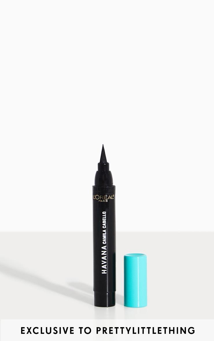 L'Oréal Paris X Camila Cabello Flash Eyeliner Black 1