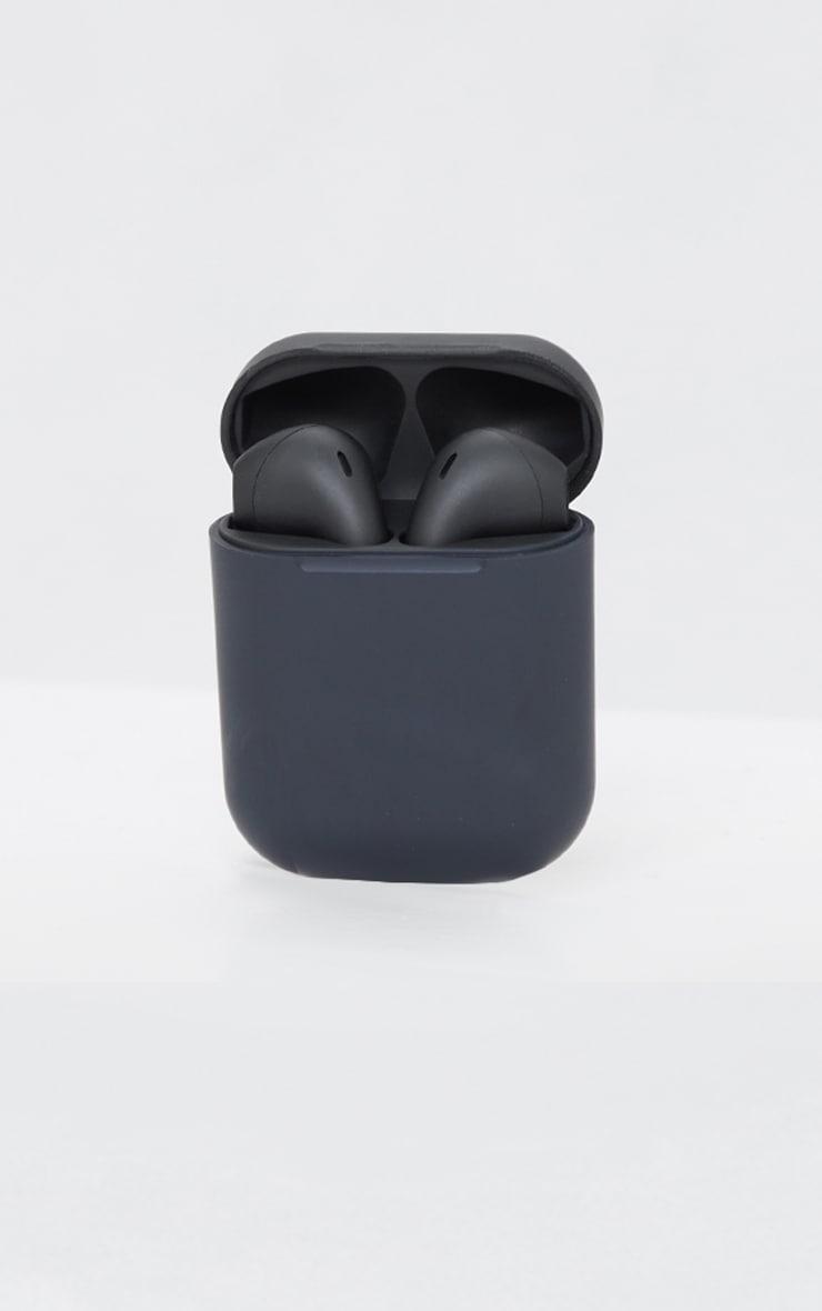 Black Wireless Earphones 3