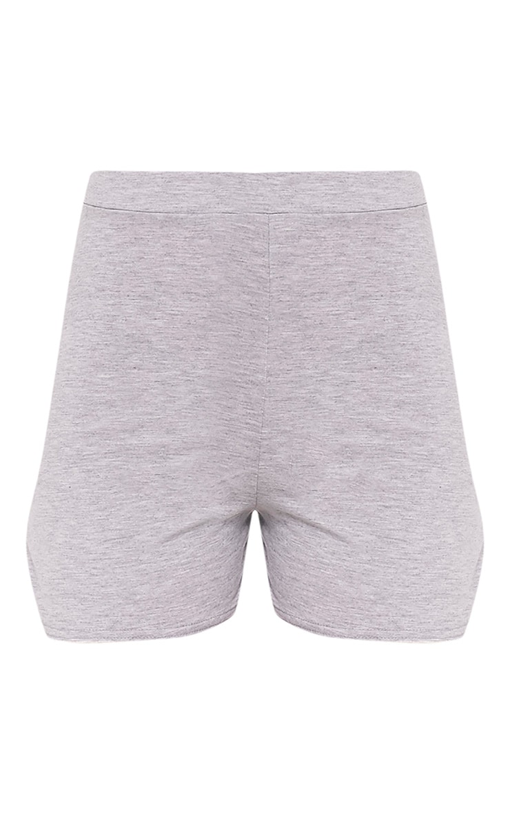 Basic Grey Jersey Runner Shorts 3