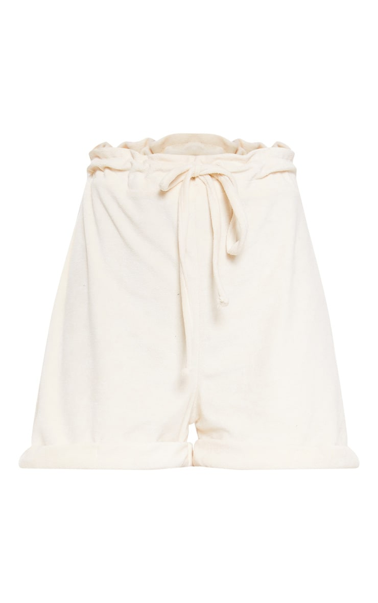 Stone Velour Drawstring Shorts 3