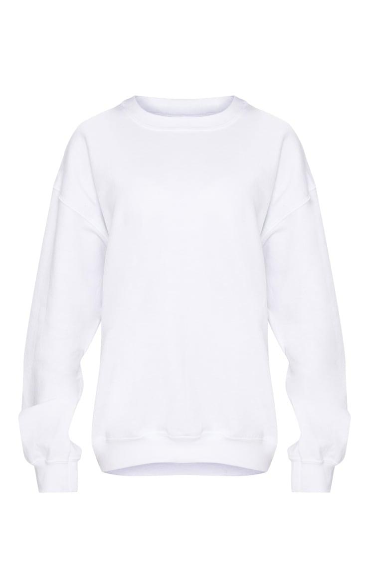 White Ultimate Oversized Sweater 3