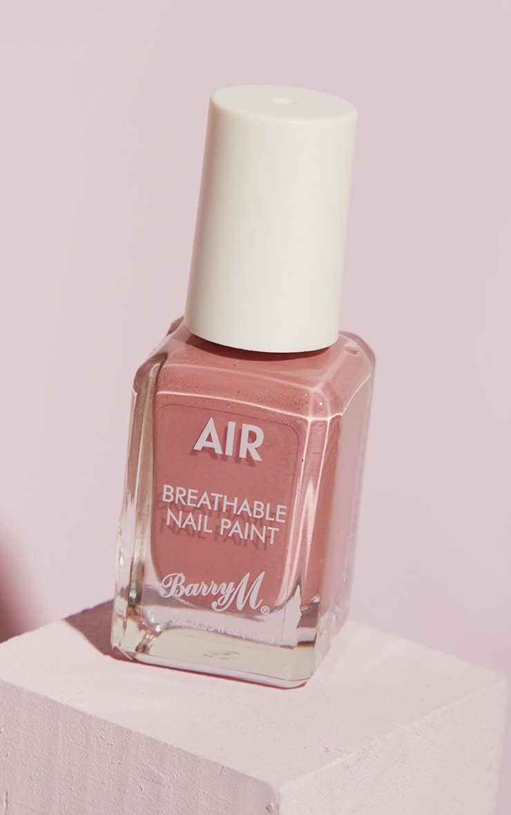 Barry M Cosmetics Air Breathable Nail Paint Dolly 1