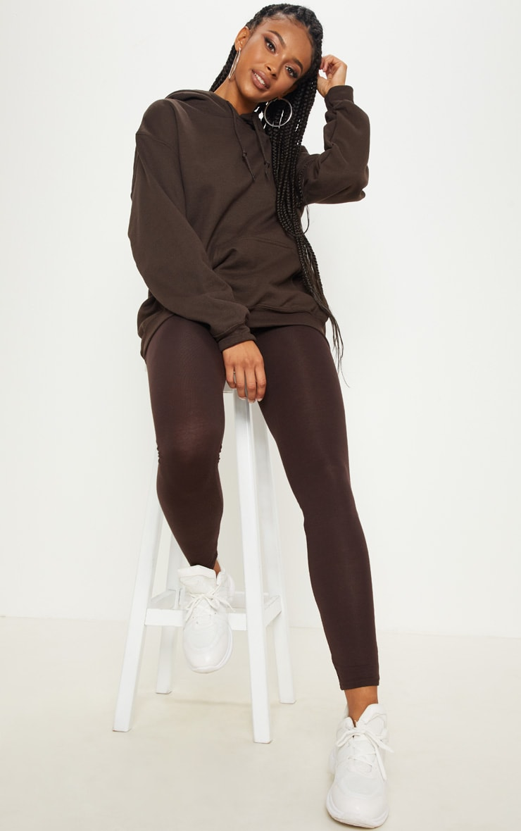 Chocolate Ultimate Oversized Hoodie 4