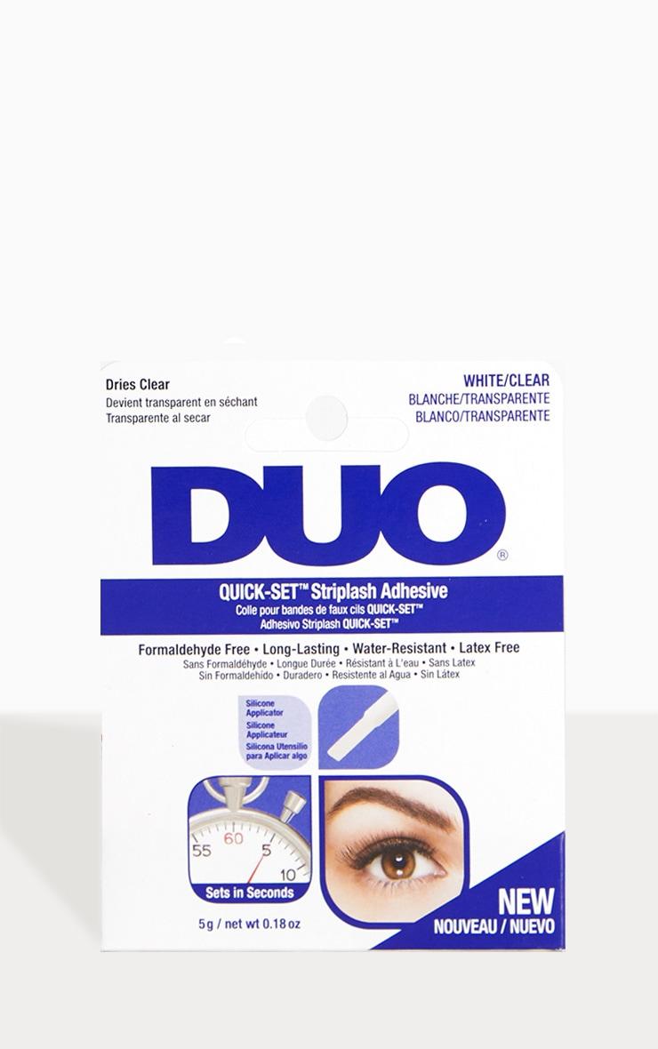 Duo Quick-Set Eyelash Glue Clear 1