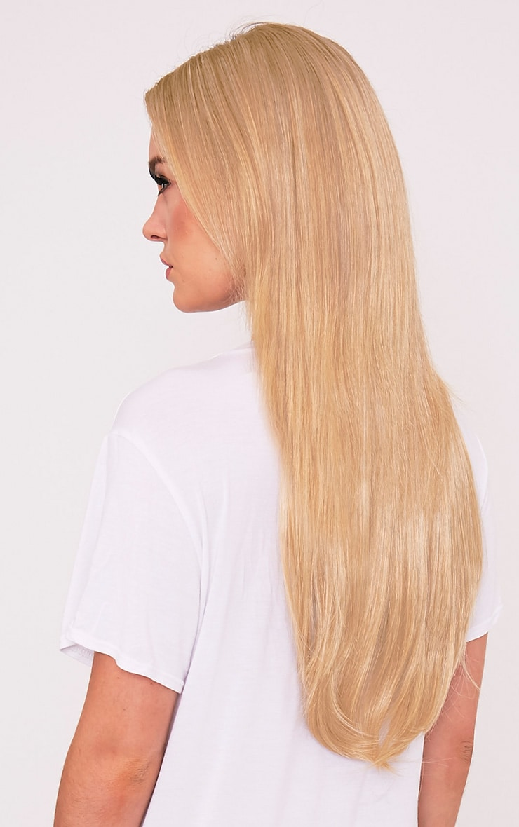 Golden Blonde 24 One Weft Straight Extension