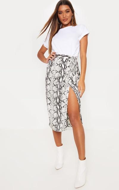 2cdac3b1ed5315 Wrap Skirts | Wrap Midi & Wrap Around Skirt | PrettyLittleThing