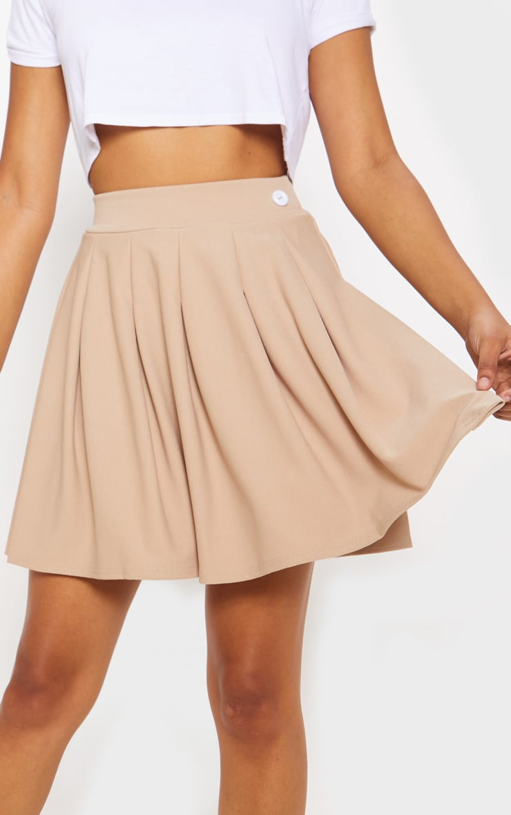 Stone Pleated Tennis Skirt 6