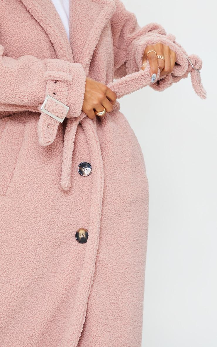 Rose Borg Oversized Belted Coat 4