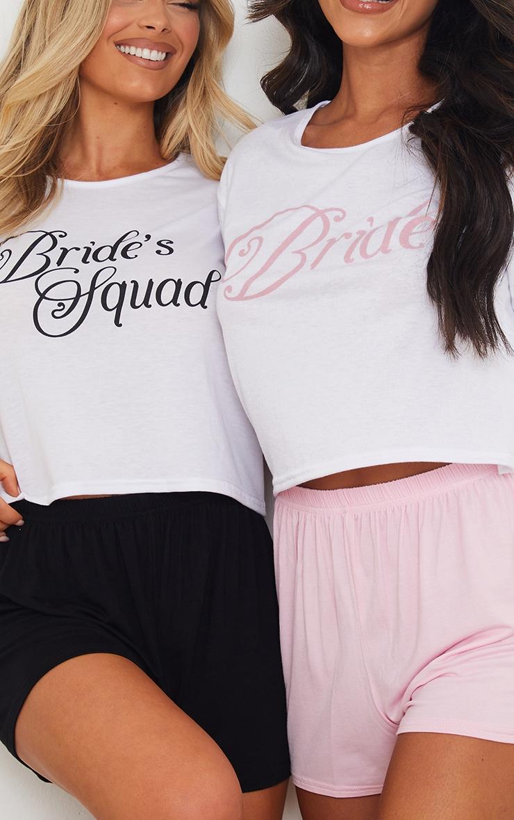 Bride Squad Short PJ Set 4