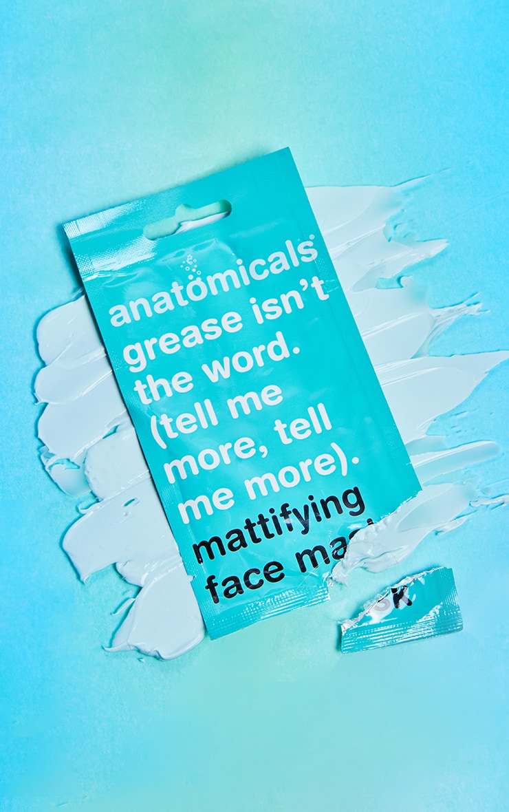 Anatomicals Grease. Is Not The Word. Tell Me More. Tell Me More Face Mask 1