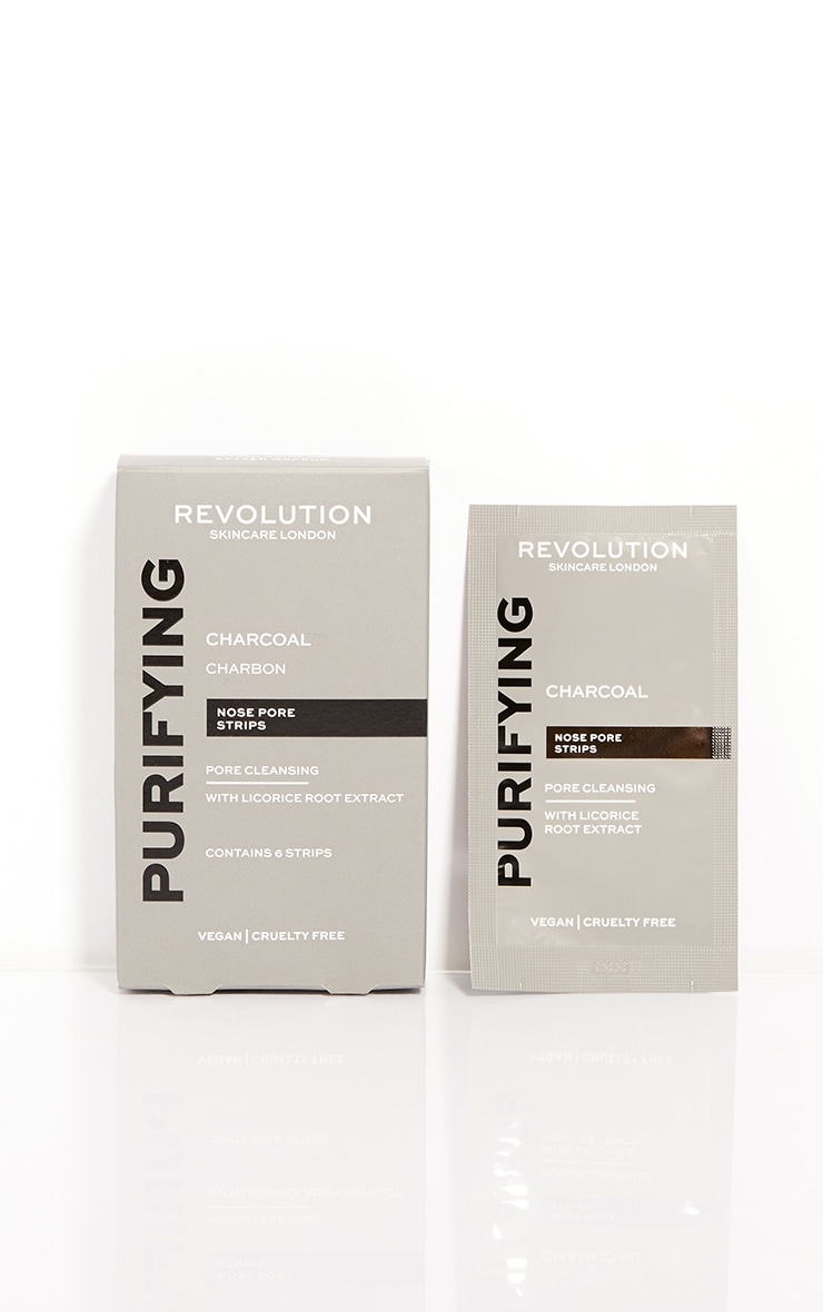 Revolution Skincare Pore Cleansing Charcoal Nose Strips 3
