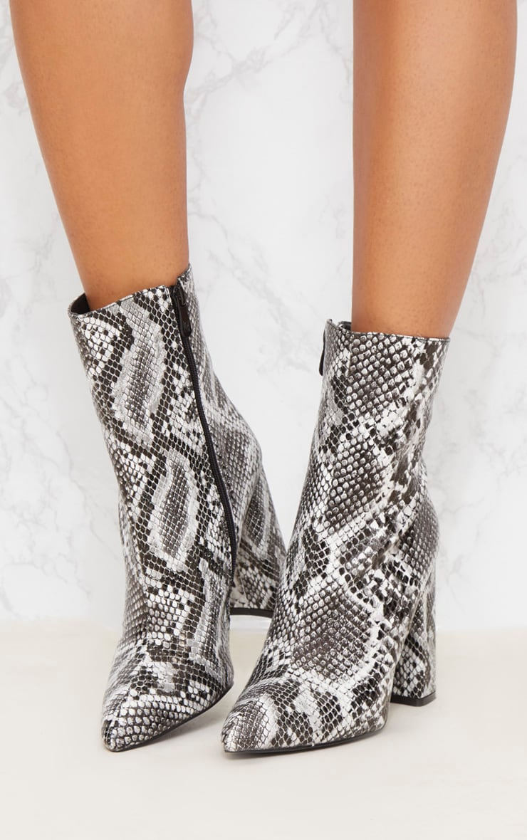 Black Snake High Point Ankle Boot 3