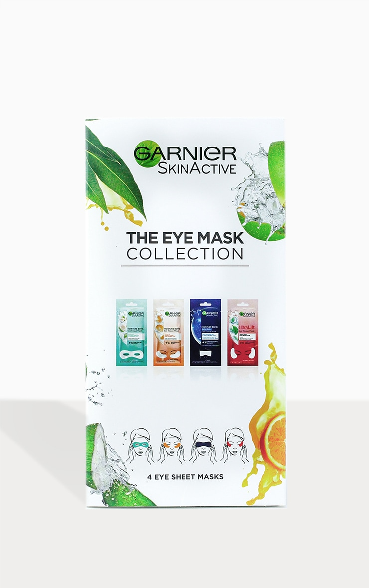 Garnier Moisture Bomb Eye Sheet Mask Collection 1