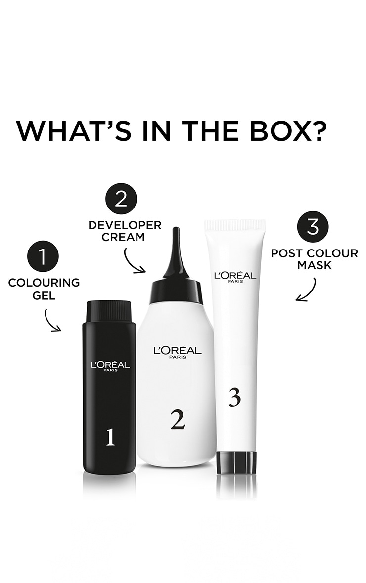L'Oreal Colorista Silver Grey Hair Dye Long-Lasting Permanent Hair Colour 2