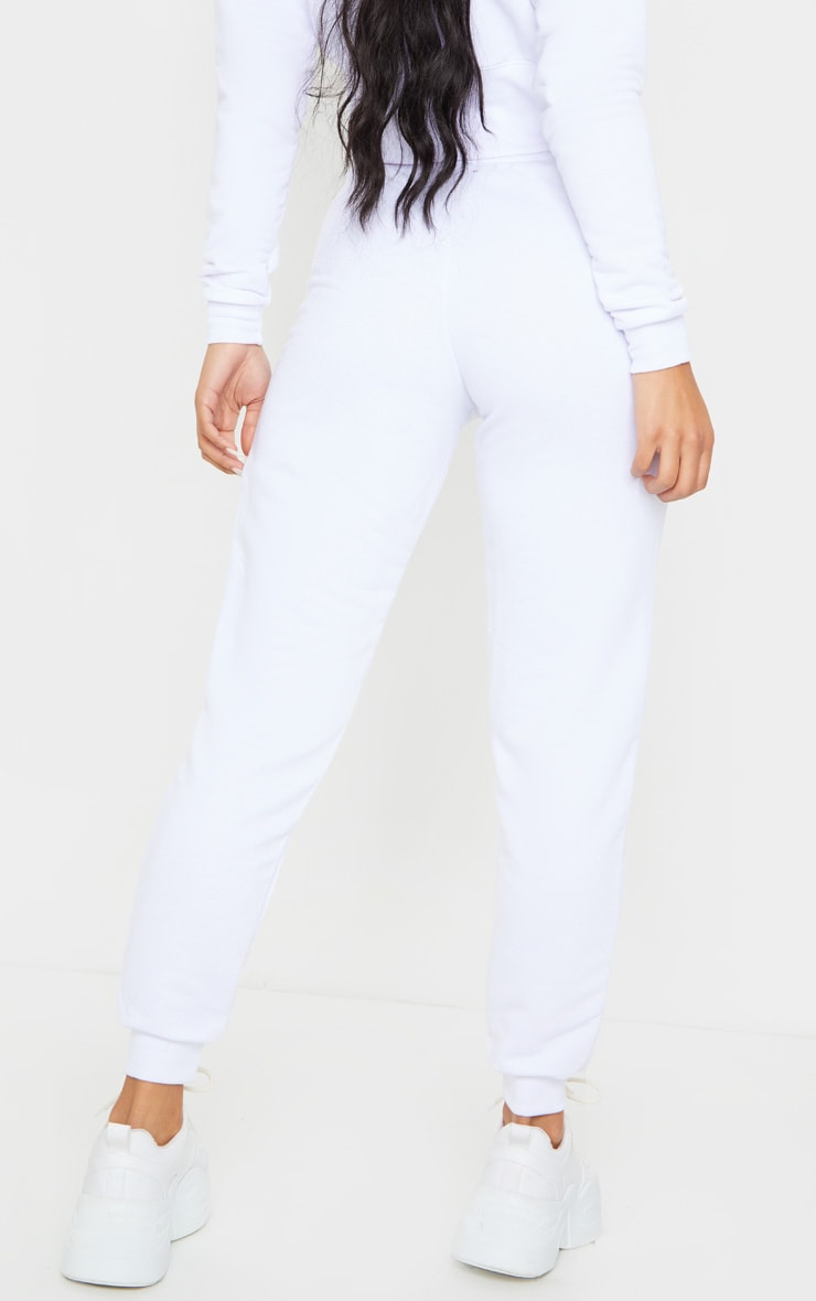 White Ultimate Sweat Joggers 3