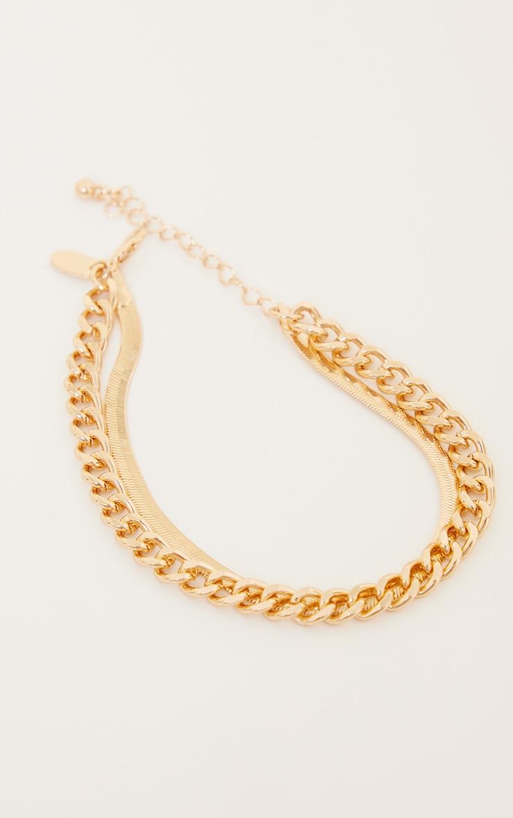 Gold Assorted 2 Pack Bracelet 2
