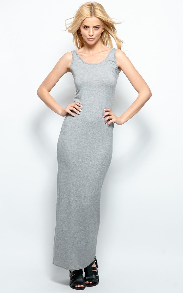 Zoe Grey Jersey Maxi Dress 1