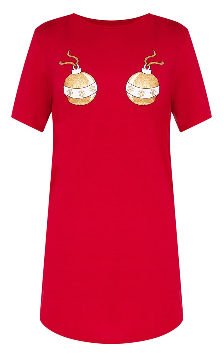 Red Bauble Nightie 3