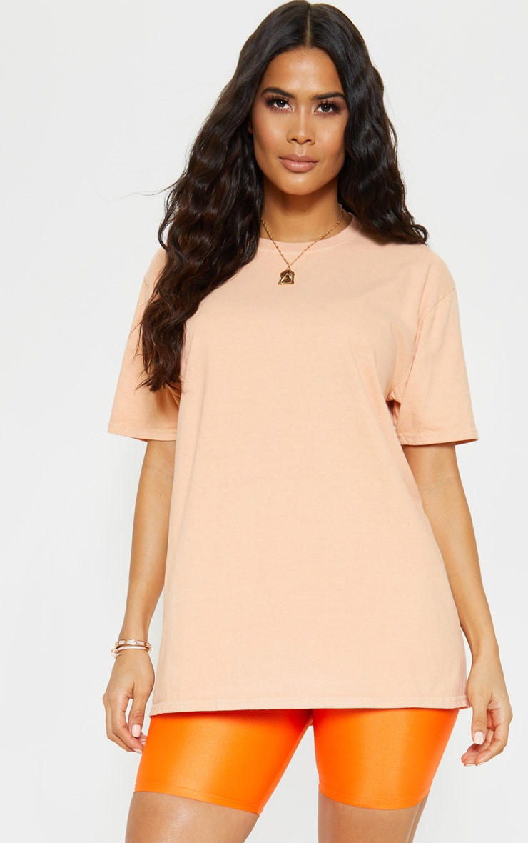 Ultimate Peach Oversized T Shirt 1