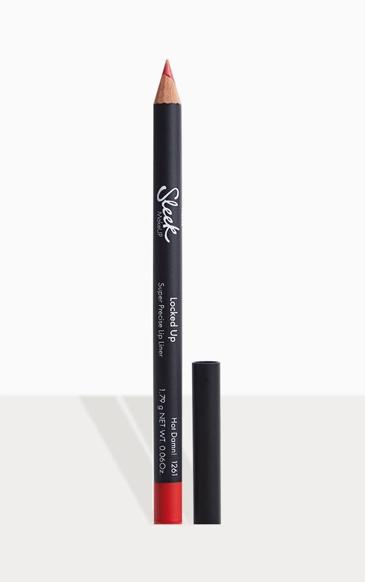 Sleek MakeUP Locked Up Super Precise Lip Liner Hot Damn! 1