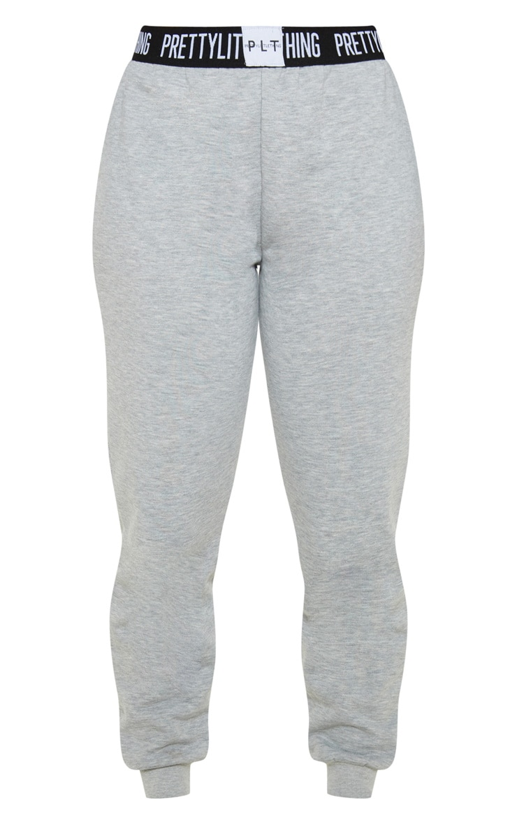 PRETTYLITTLETHING Petite Grey Lounge Jogger 3