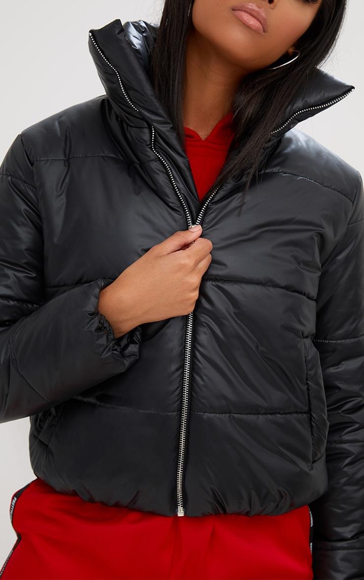 Black Puffer Jacket 5