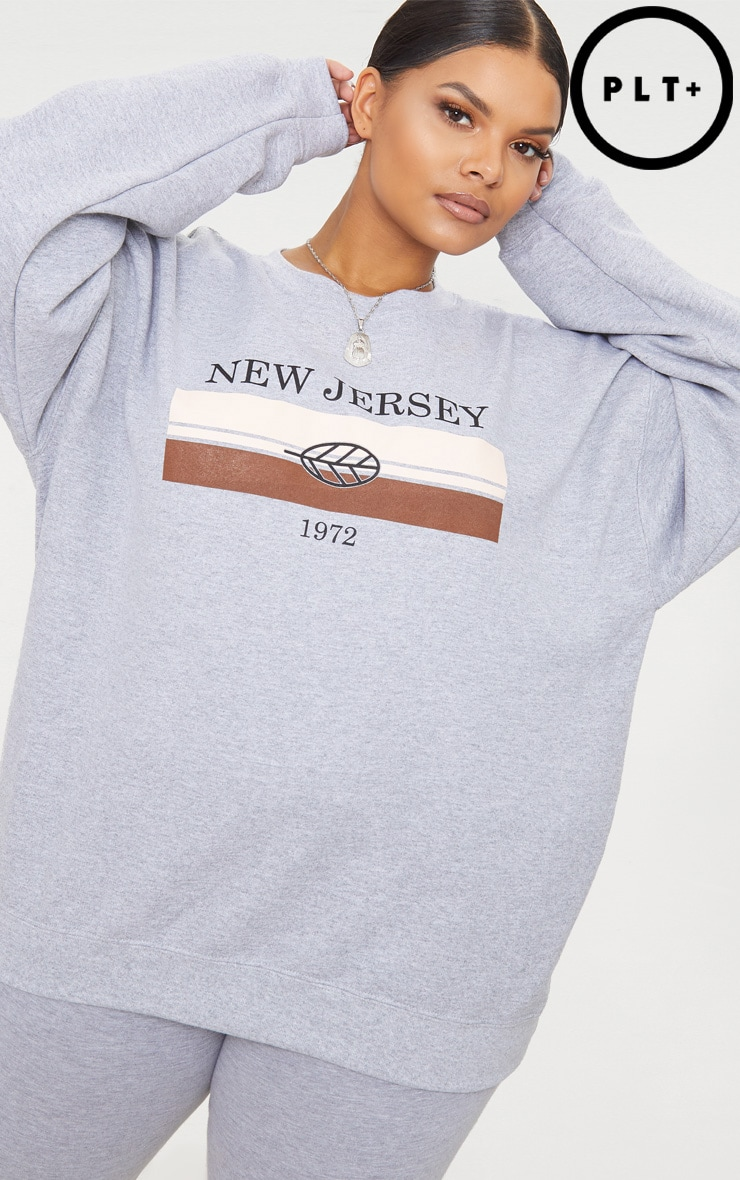 Cheap Really Sale Low Price PRETTYLITTLETHING Plus New Jersey Sweater Cheap Best Wholesale Discount Lowest Price UXmkT