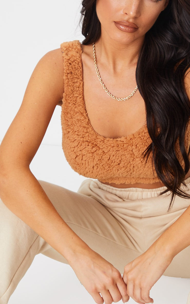 Rust Borg Scoop Neck Bralet 4