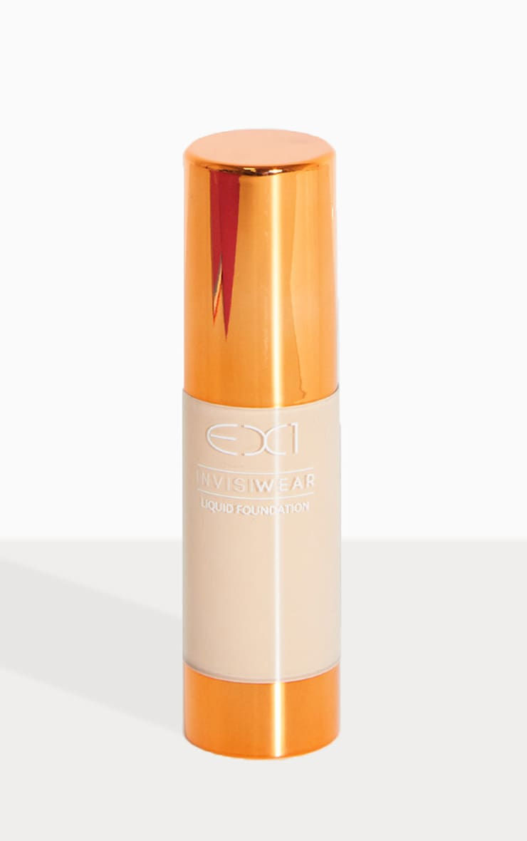 EX1 Cosmetics Invisiwear Liquid Foundation 2.0 1