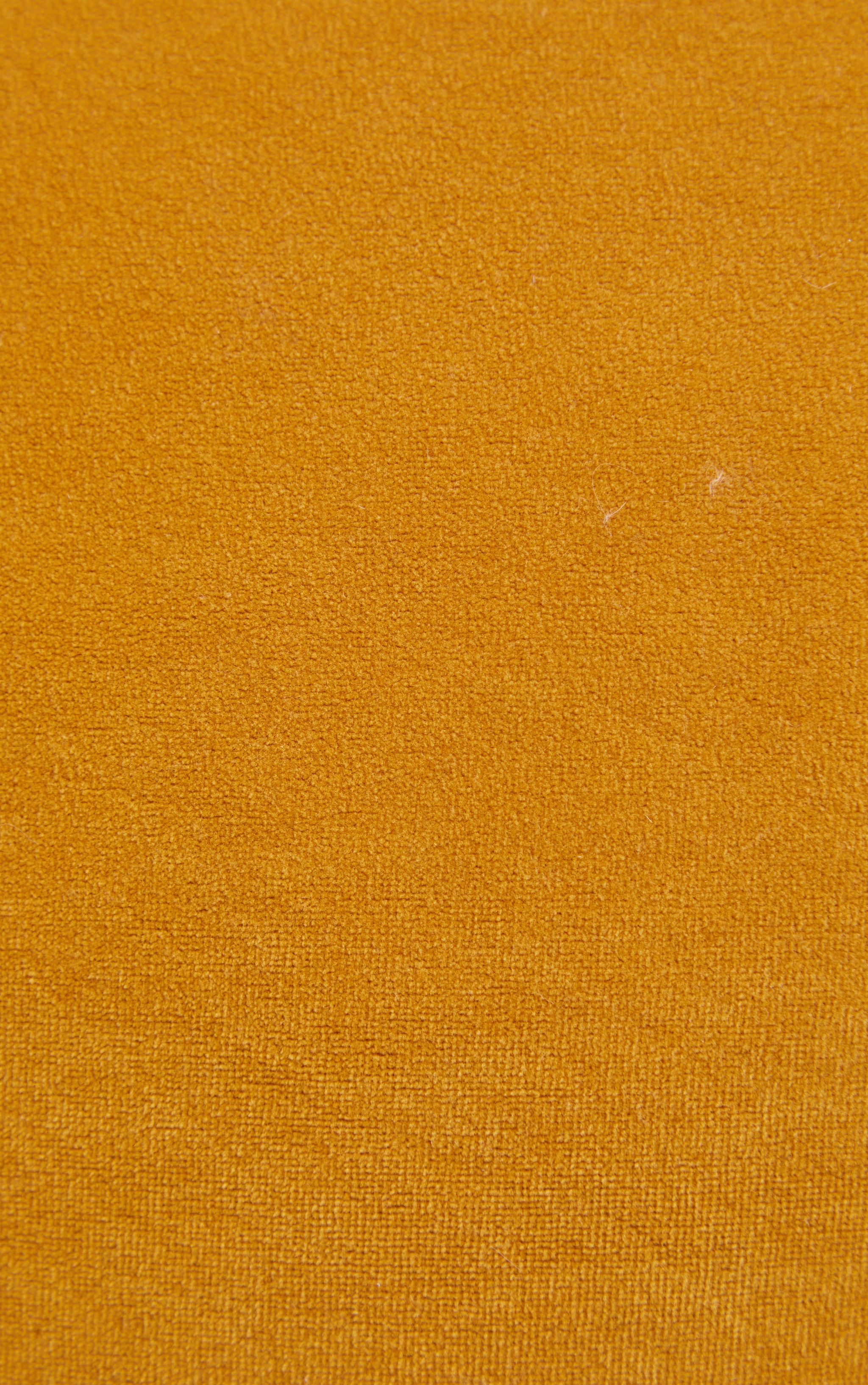 Yellow Velvet Cushion 4