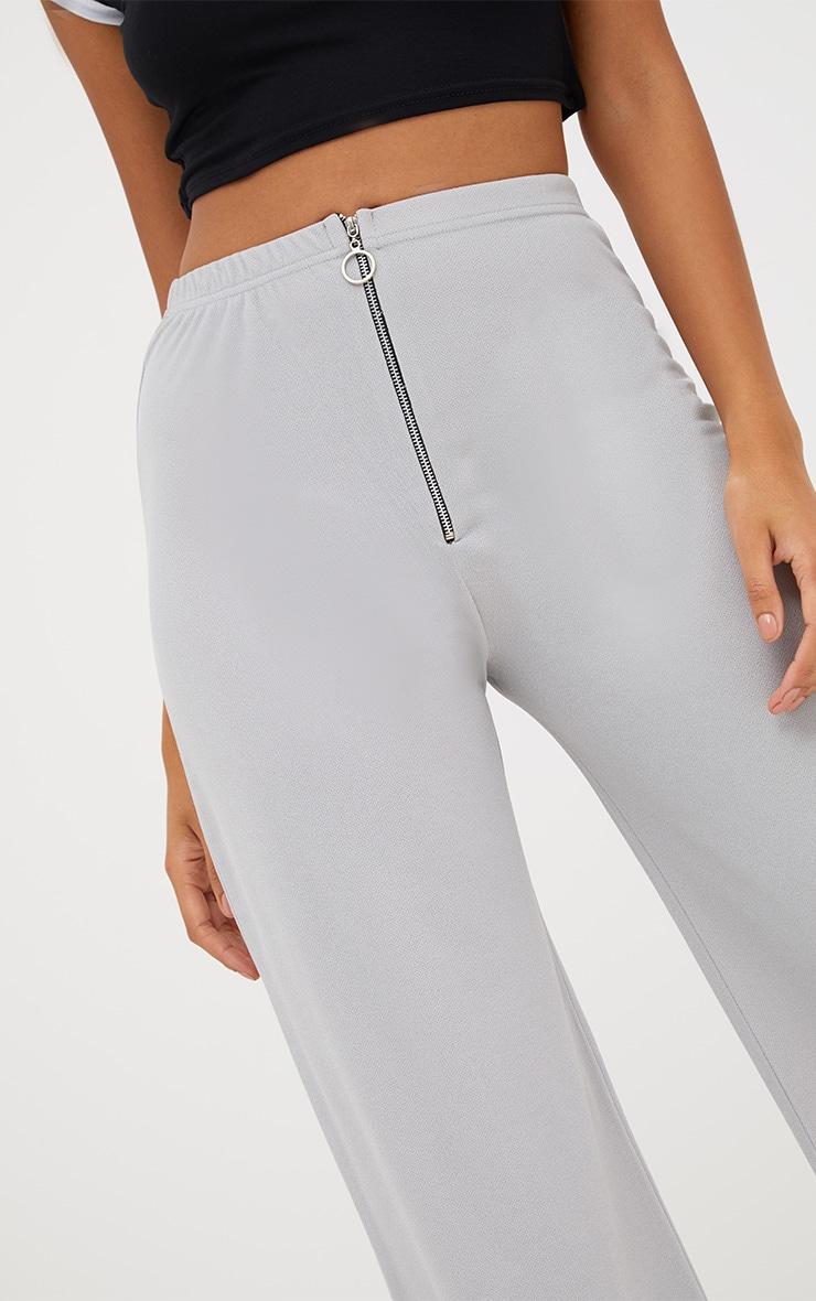 Grey Ring Zip Culottes 5