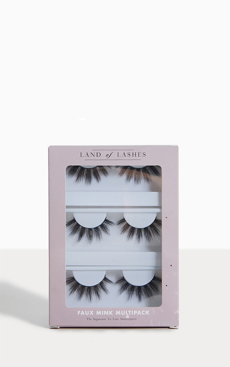 Land of Lashes Faux Mink Paloma Multipack 1
