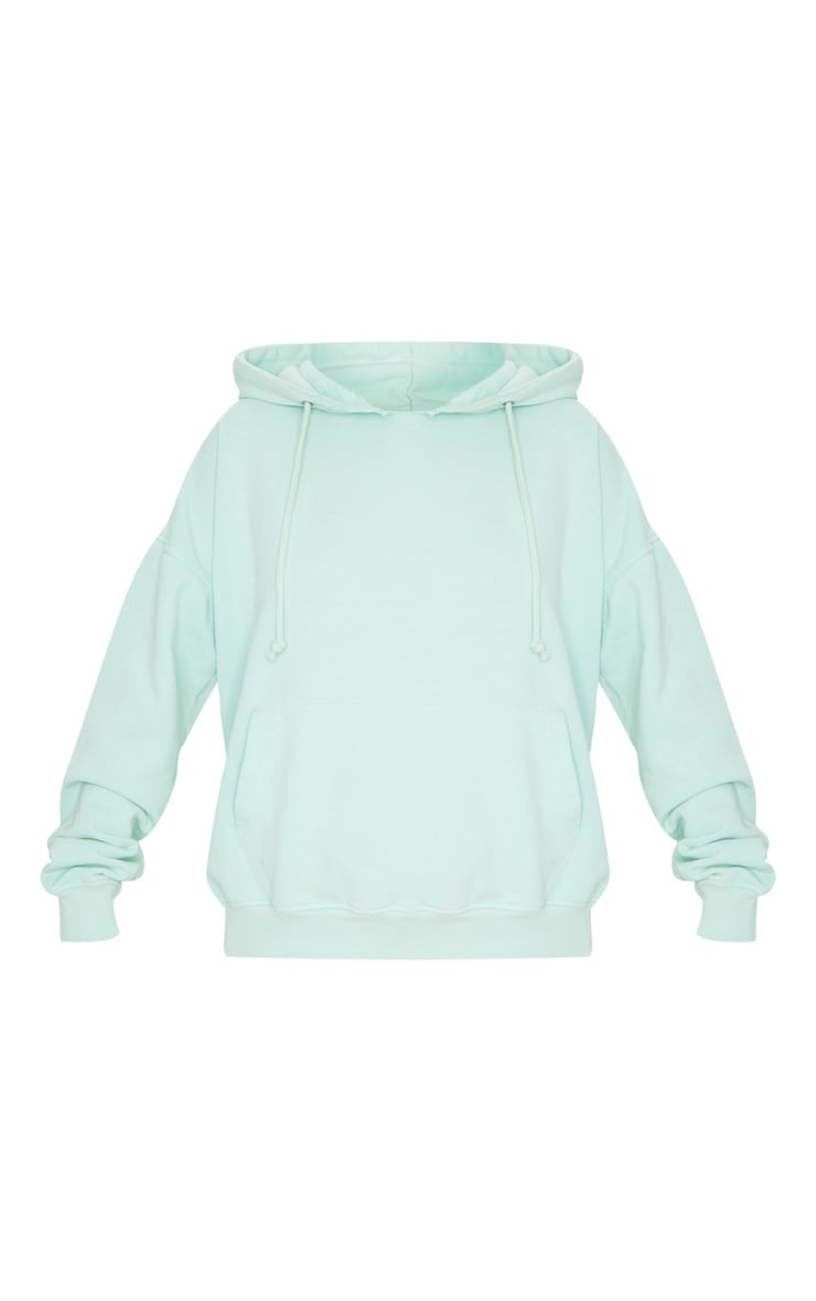Mint Washed Oversized Hoodie 5
