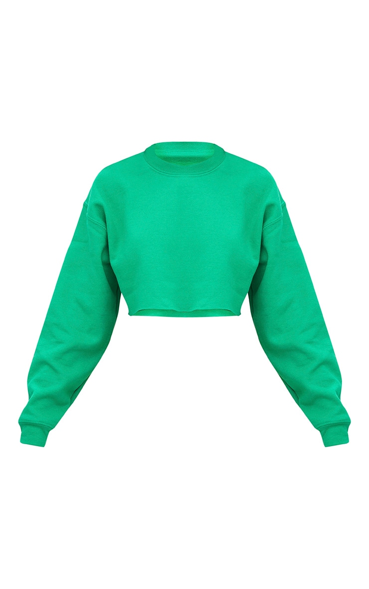 Jade Green Ultimate Cropped Sweater 3