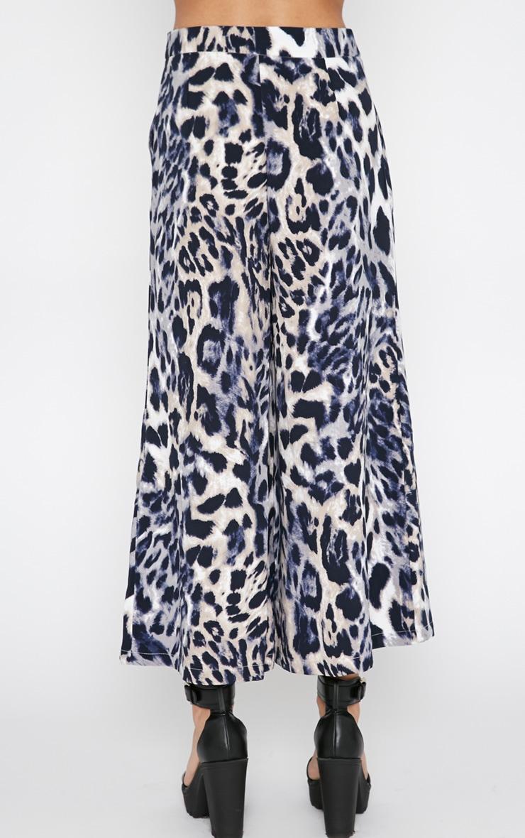 Jaidyn Blue Leopard Culottes 2