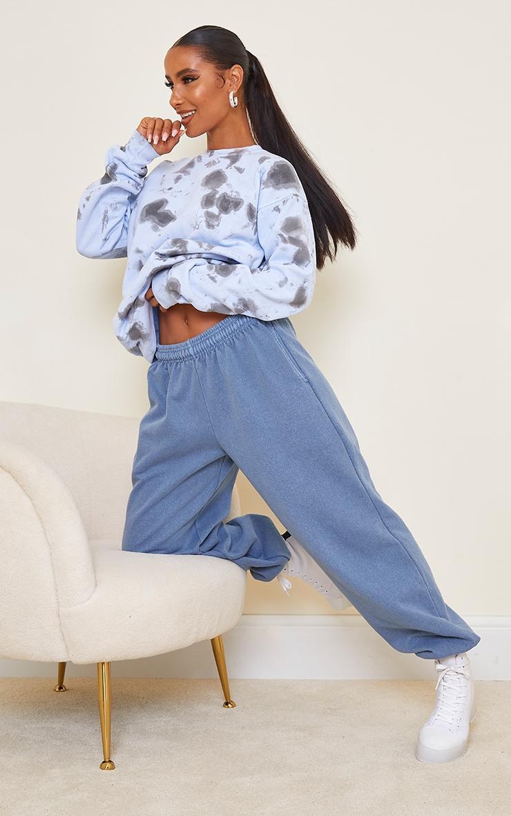 Blue Tie Dye Sweatshirt 3