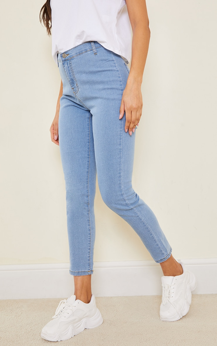 Light Wash Disco Fit Skinny Jean 2