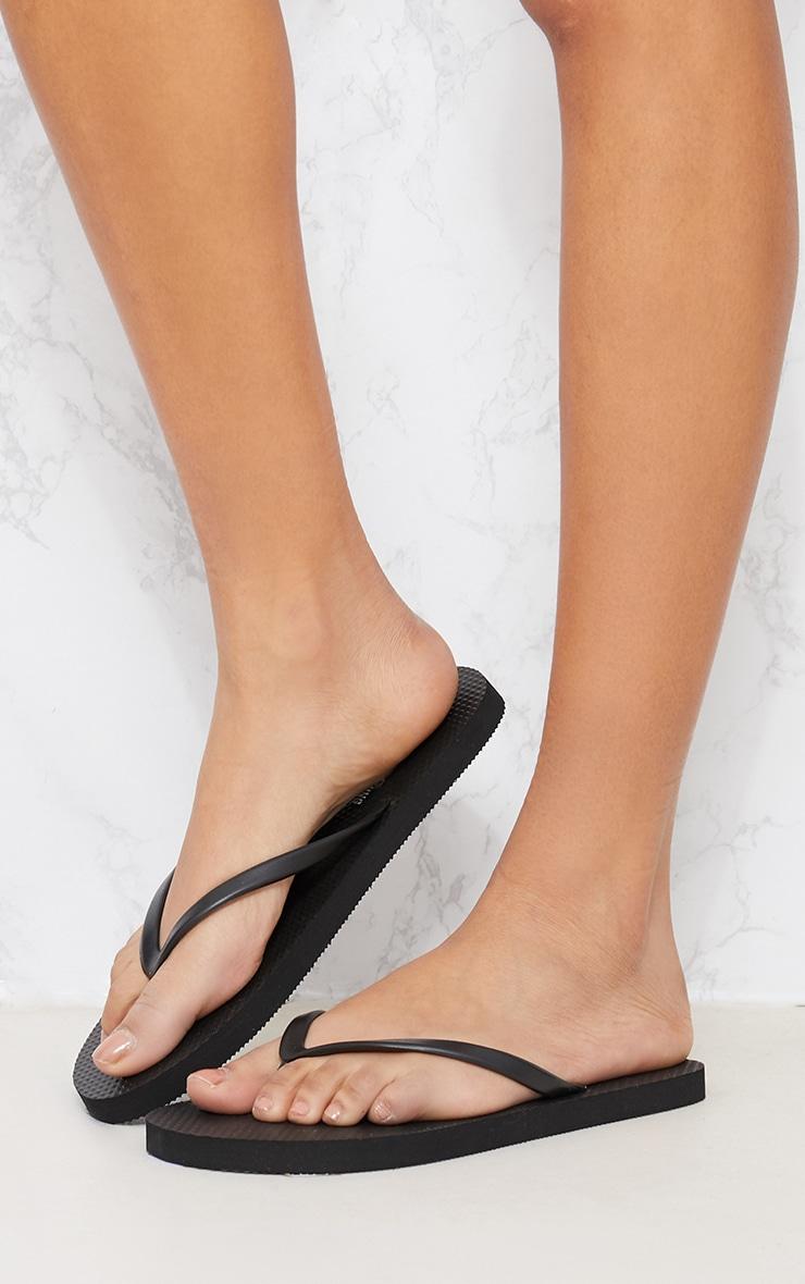 Black & White Flip Flops 2 Pack 6