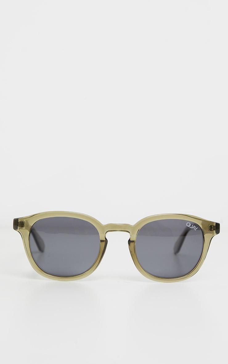 QUAY AUSTRALIA Olive Walk On Sunglasses 2