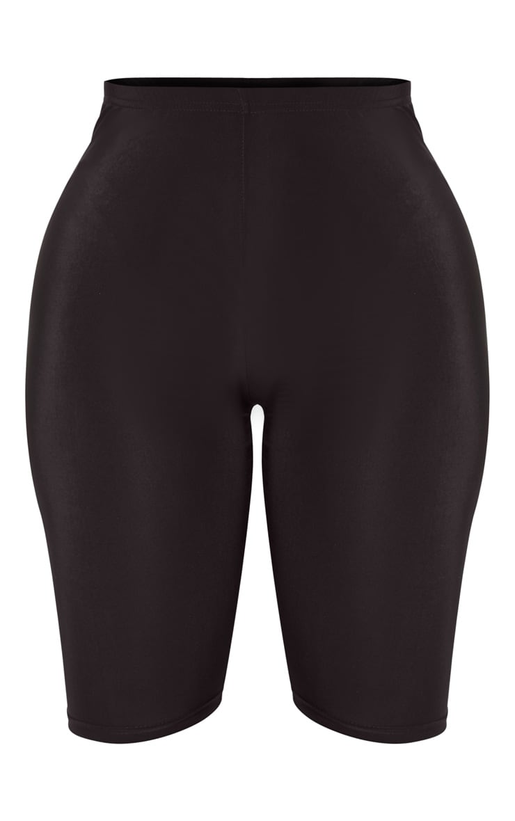 Shape Black Slinky High Waist Cycling Shorts 2